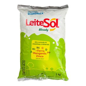 Leite em Pó Composto Verde Blendy Sol 1Kg