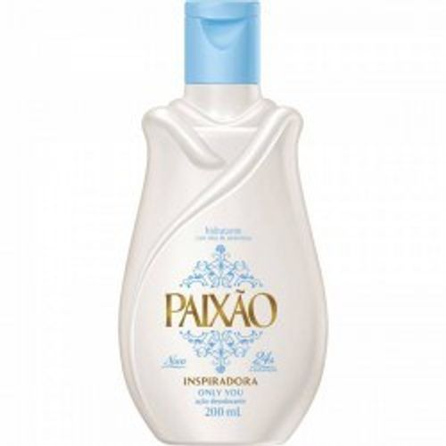 Leite Hidratante Desodorante Paixão Only You 200ml