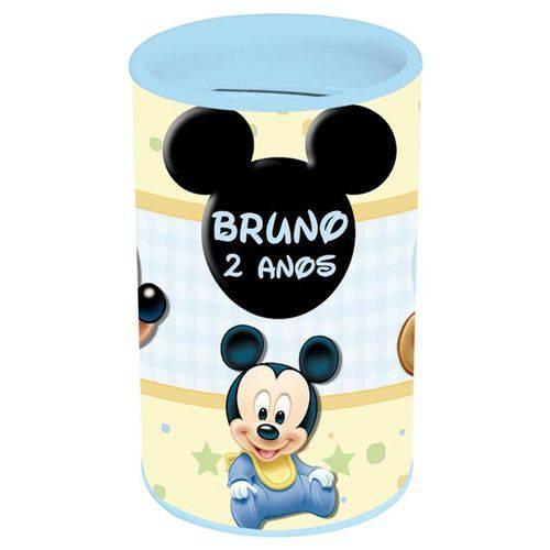 Lembrancinha Cofre Disney Baby Mickey