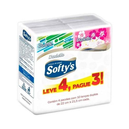 Lenço Softy's Pockets Leve 4 Pague 3 (5242)
