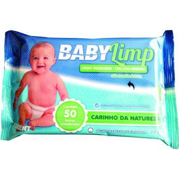 Lenço Umedecido Babylimp Premium Carinho da Natureza