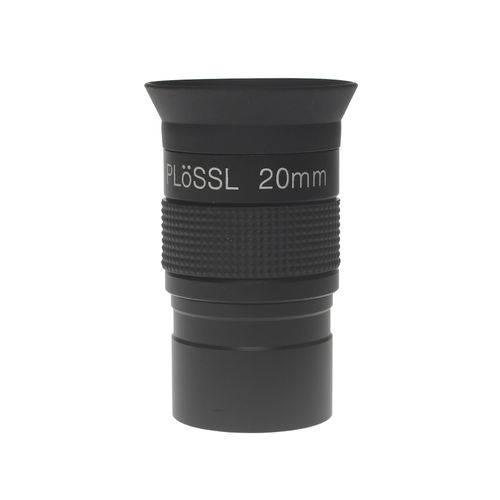Lente Ocular Super Plossl de 20mm para Telescópio - Bluetek - Pl20mm