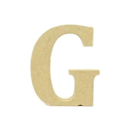 Letra de Mesa Média G MDF 12CM