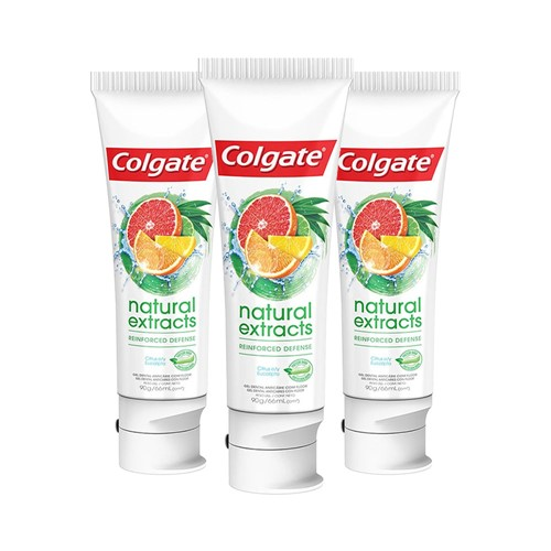 Leve 3 Pague 2 Creme Dental Colgate Natural Extracts Reinforced Defense 90g