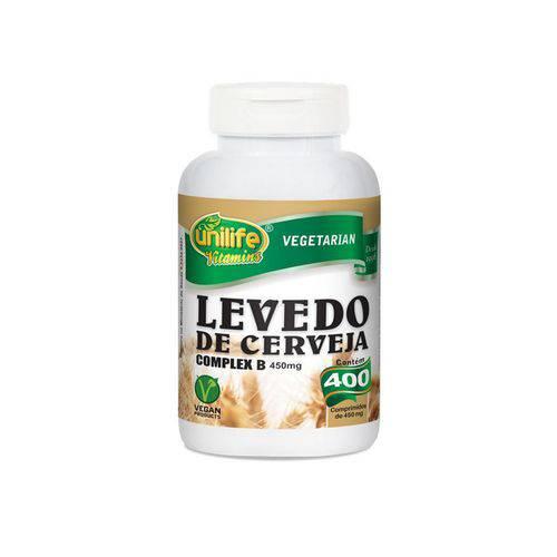 Levedo de Cerveja Complexo B - Unilife - 400 Cápsulas