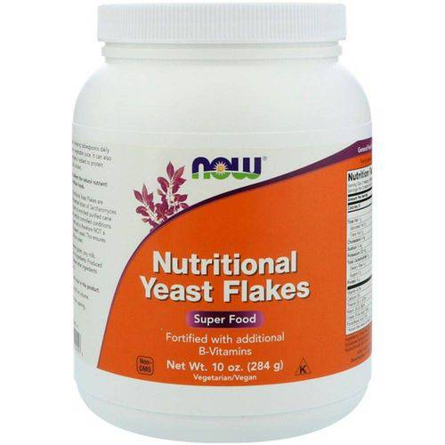 Levedura Nutricional 10 Oz (284 G) - Now Foods (nutritional Yeast Flakes)
