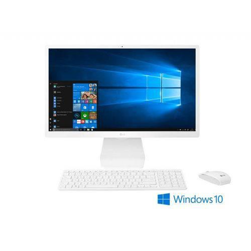 Lg All In One 21,5'''' 22v280 Branco - Windows Home 10, 500gb