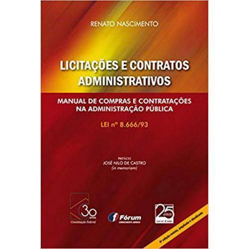 Licitaçoes e Contratos Administrativos