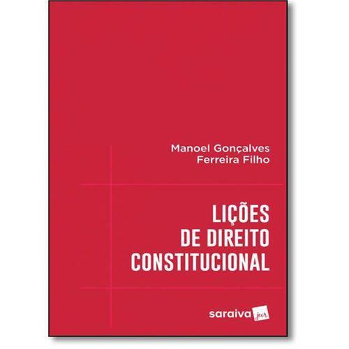 Licoes de Direito Constitucional - Saraiva