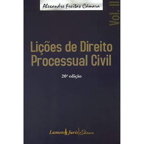 Lições de Direito Processual Civil - Vol. 2