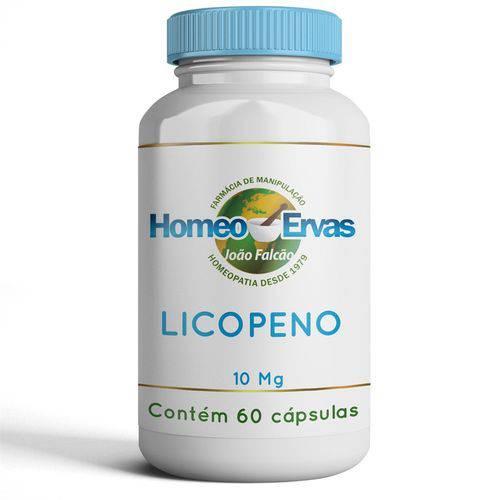 Licopeno 10mg - 60 CÁPSULAS - Homeo Ervas