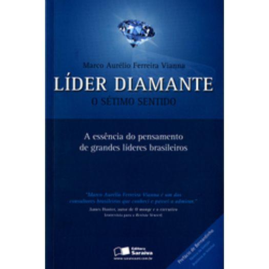 Lider Diamante o Setimo Sentido - Saraiva