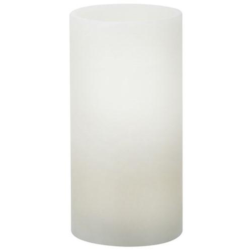 Light Up Vela Led 15 Cm X 7 Cm Branco