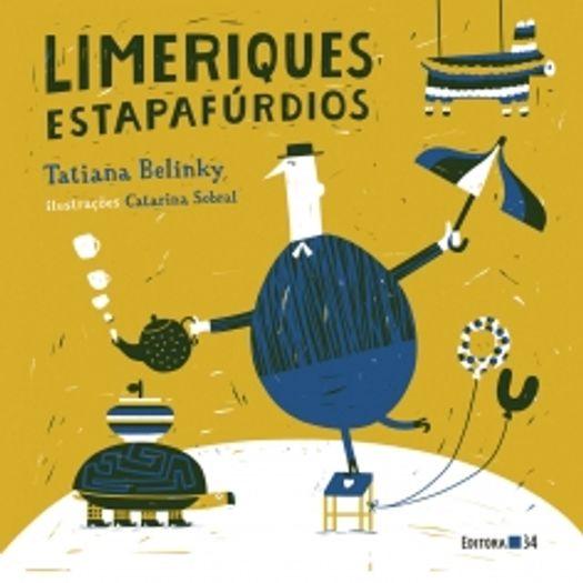 Limeriques Estapafurdios - Editora 34