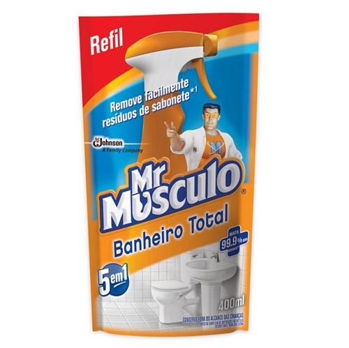 Limp Banheiro 5x1 Mr.Musculo 400ml Sac