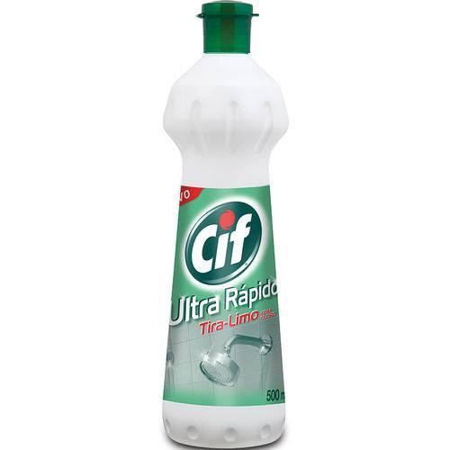 Limp Banheiro Cif 500ml-sqz C/cloro
