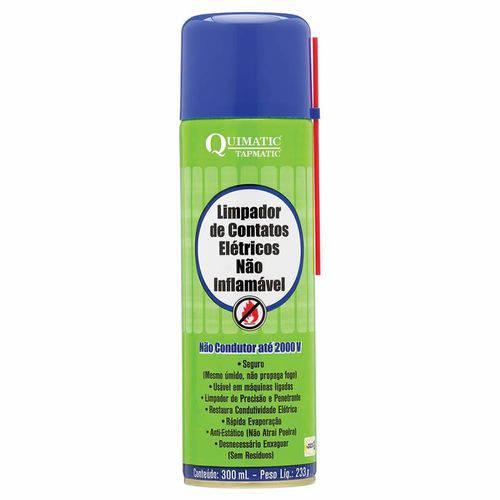 Limpa Contato não Inflamavel Spray 300 Ml Quimatic Tapmatic