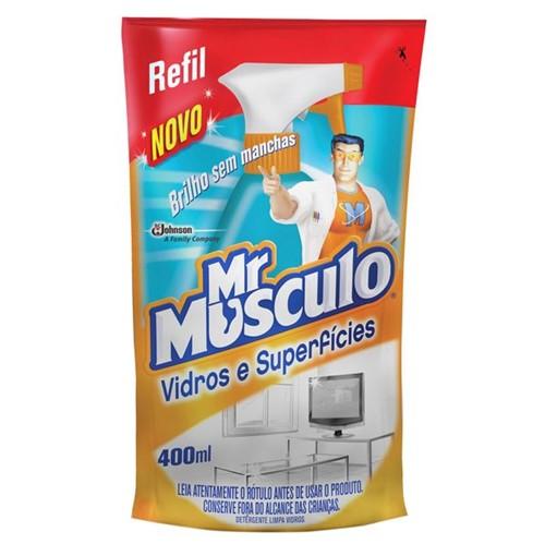 Limpa Vidros Mr Musculo 400ml Refil