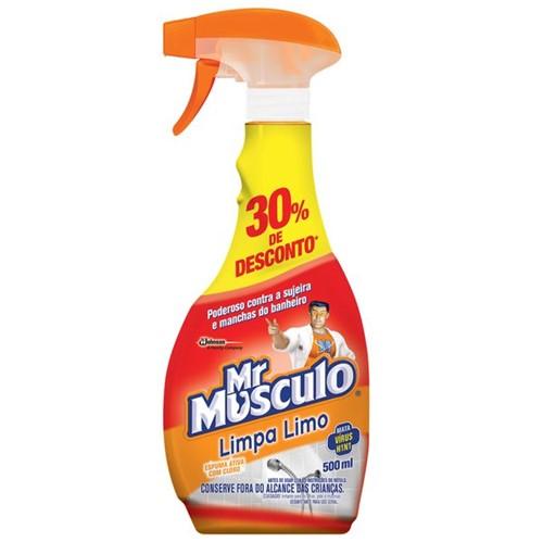 Limpador Limpa Limo Mr Musculo 500ml Apar 30% Desconto