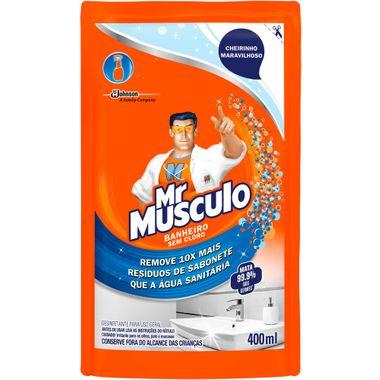 Limpador para Banheiro Refil Mr Músculo 400ml