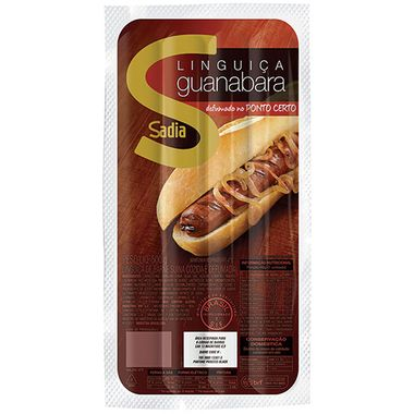 Linguiça Guanabara Fina Sadia 500g