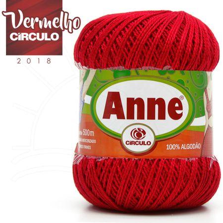 Linha Anne 500 - 3402 Vermelho Círculo