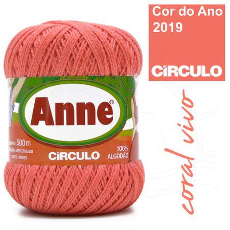 Linha Anne 500 - 4004 Coral Vivo