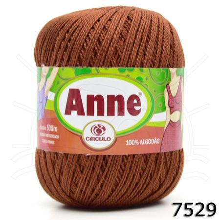 Linha Anne 500 - Coleção 2018 7529 Terracota