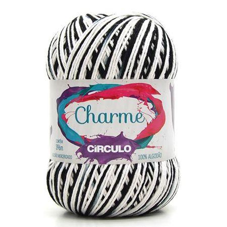 Linha Charme Círculo - Mesclado 9016 Zebra