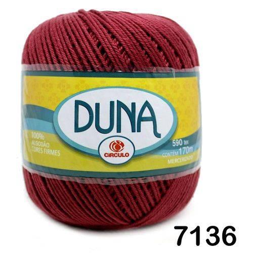Linha Duna Circulo 100g - Cor: 7136 Marsala