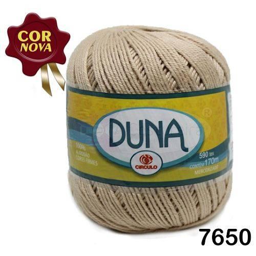 Linha Duna Circulo 100g - Cor: 7650 Amendoa