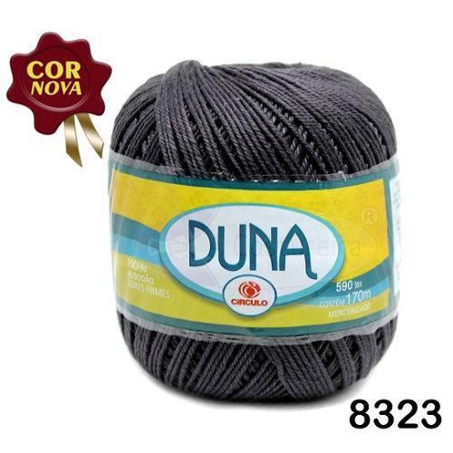 Linha Duna Circulo 100g - Cor: 8323 Cinza Onix
