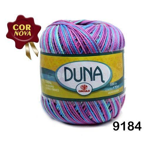 Linha Duna Circulo 100g - Cor: 9184 Sereia