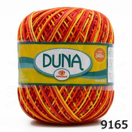 Linha Duna Círculo Mescla 200g - Coleção 2018 9165 Hibísco Amarelo