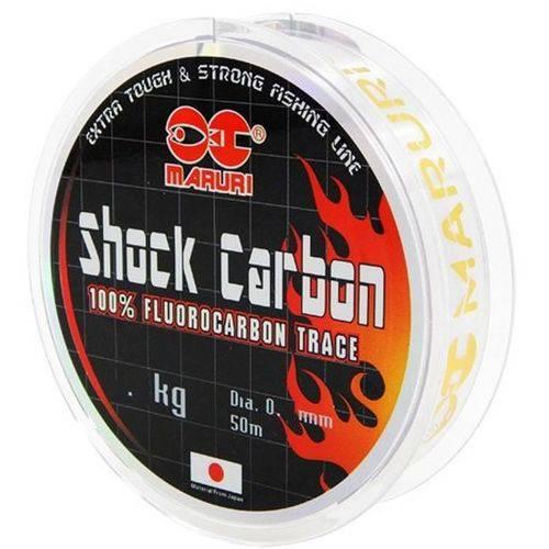 Linha Fluorocarbon Maruri Shock Carbon 14kg (0.45mm - 50m)