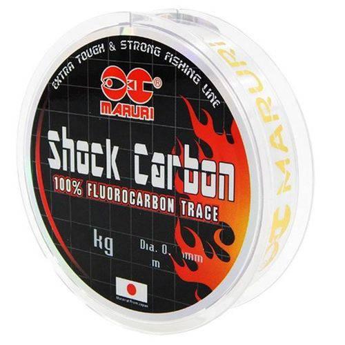Linha Fluorocarbon Maruri Shock Carbon 5.7kg (0.29mm - 20m)