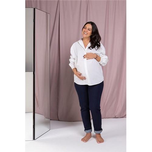 Linha Maternar - Calça Gestante Skinny Jeans - 34
