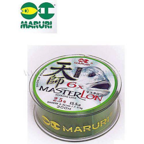 Linha Mono Maruri Master Lon 3.0 0,286mm 18,2 Lbs 300m