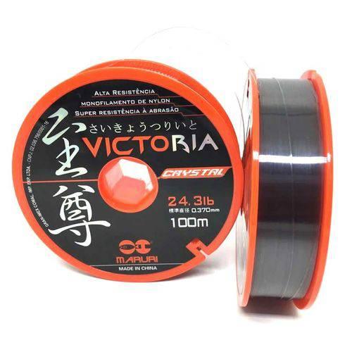 Linha Mono Maruri Victoria Crystal 0,40mm 28,8lbs 100m