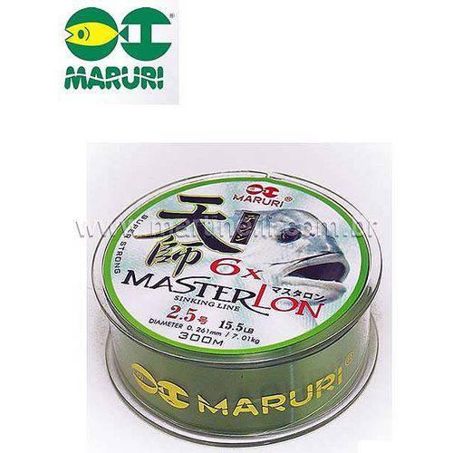 Linha Monofilamento Maruri Master Lon 0,309mm 21,2 Lbs 300m