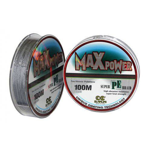 Linha Multifilamento Maruri Max Power 0,20mm 25lb 100m