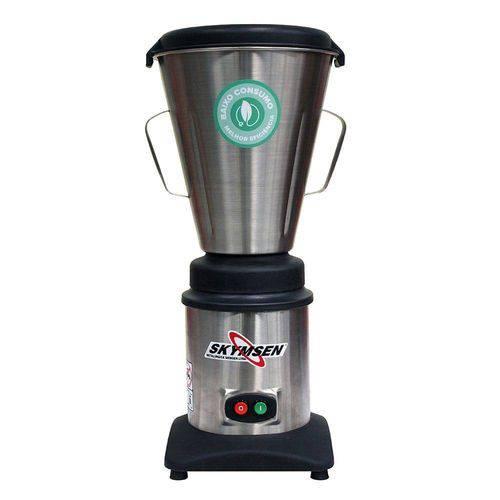 Liquidificador Comercial Inox Copo Monobloco Inox 6 Litros Lc6