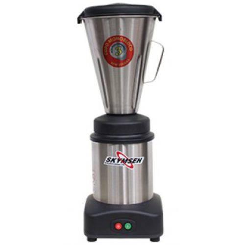 Liquidificador Comercial Inox ,Copo Monobloco Inox, 3,6 Litros - Ls-03mb-N - Skymsen