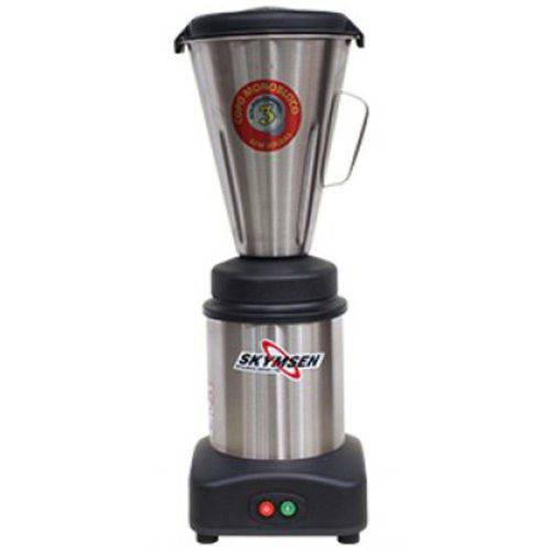 Liquidificador Comercial Inox Copo Monobloco Inox Ls-03mb-n