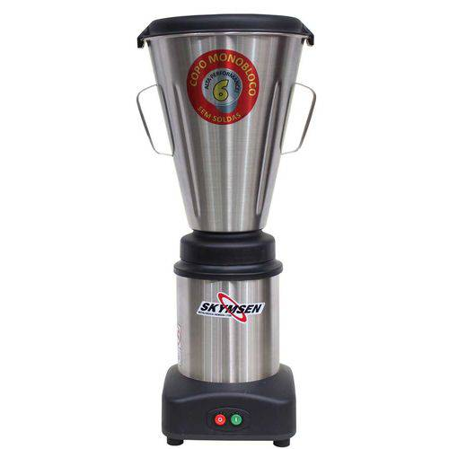 Liquidificador Comercial Inox Ls-06mb Copo Monobloco 6,0 Litros 127v - Skymsen