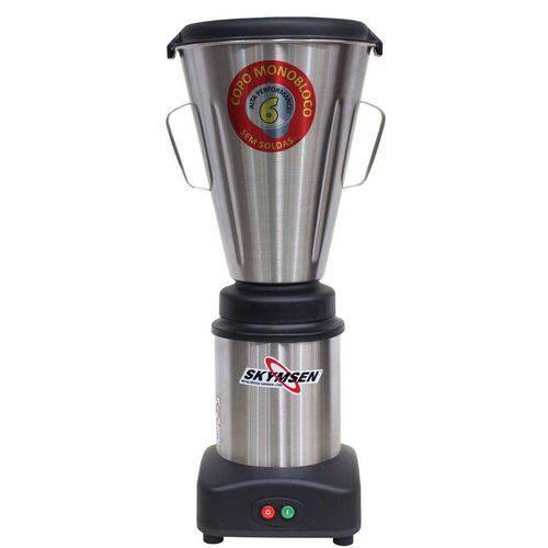 Liquidificador Comercial Inox Ls-06mb Copo Monobloco 6 Litros 220v