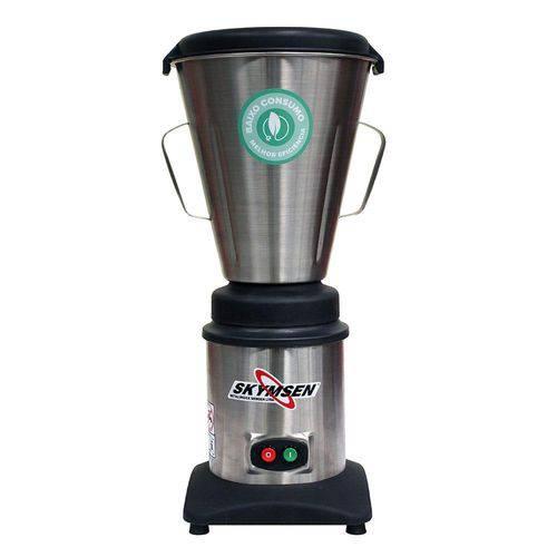 Liquidificador Industrial Skymsen LC4 Copo de Inox Alta Rotação Inox 665W 110V