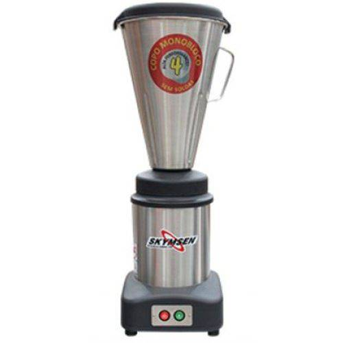 Liquidificador Inox Alta Rotação Copo Monobloco Inox Ta-04mb-n
