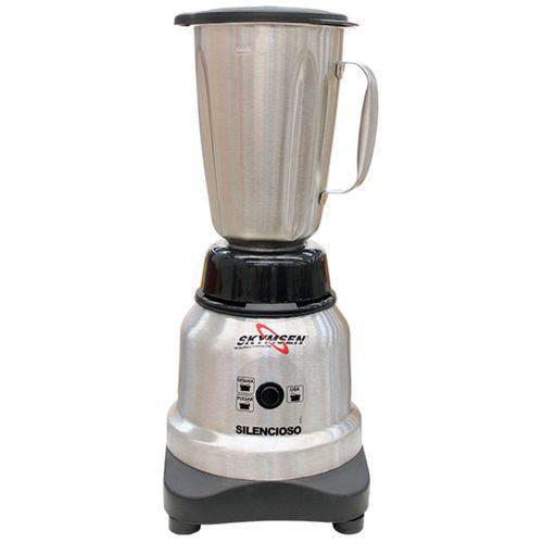 Liquidificador Inox Copo Inox Alta Rotação 1,5 Litros Silencioso Lis-1,5-n
