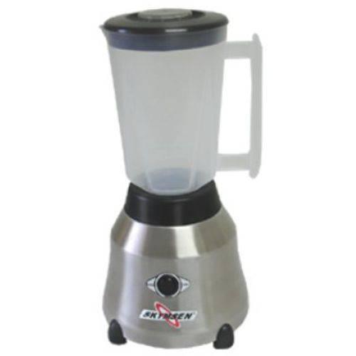 Liquidificador Inox Copo Plástico 1,5 Litros - Lt-1,5-N - Skymsen